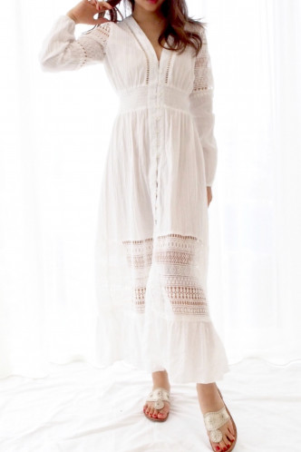 Lucie long sleeve sun dress